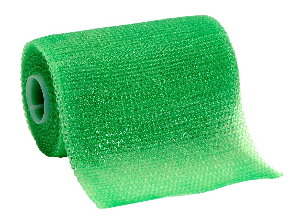 3M Scotchcast 82003V Plus Casting Tape, Bright Green 3'' x 4 Yard (Pack of 10)