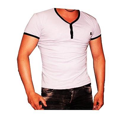 ReRock Slim Body 83 For Ever Shirt Style Rock Trend (L-Slim Fit Body