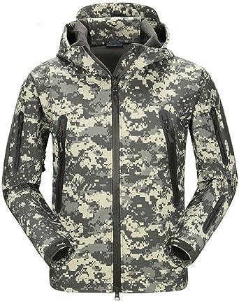 De Imperméable Veste Militaire Softshell Camouflage Tacvasen Homme CqwYPnF
