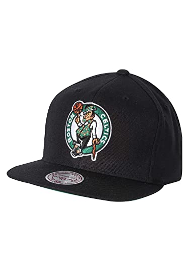 check out 36d4b 7d428 ... heather 9fifty snapback cap e441b 226e8  promo code for mitchell ness  hats boston celtics snapback cap wool solid black adjustable amazon clothing