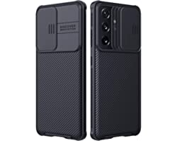 Nillkin Galaxy S21 Ultra Case - CamShield Case with Slide Camera Cover, Slim Protective Case for Samsung Galaxy S21 Ultra 6.8