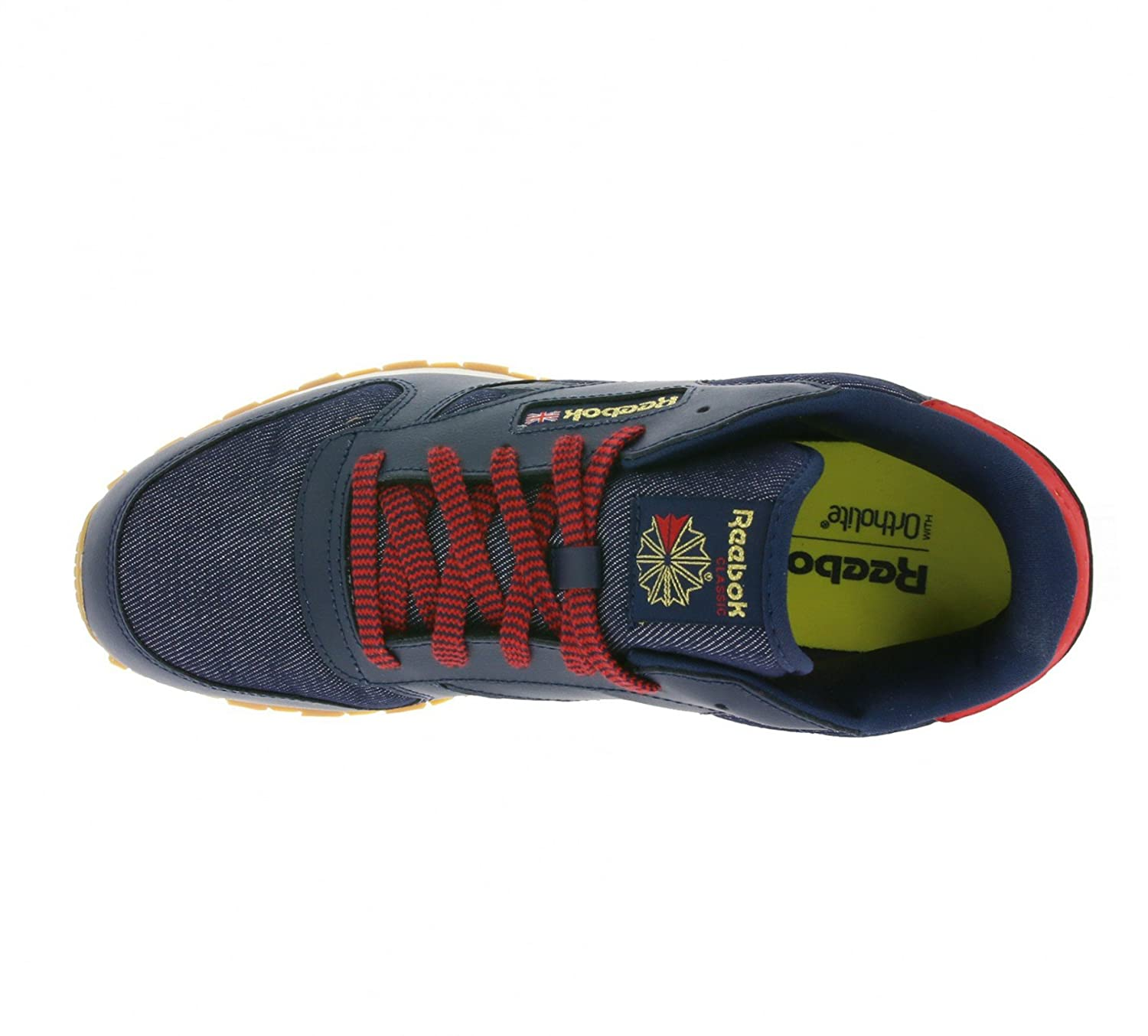 fca1487078b Reebok Unisex Kids Classic Leather Dg Ar2042 Trainers  Amazon.co.uk  Shoes    Bags