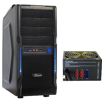 A6 superior RTX Midi Tower PC Gamer Computer Carcasa Frontal ...