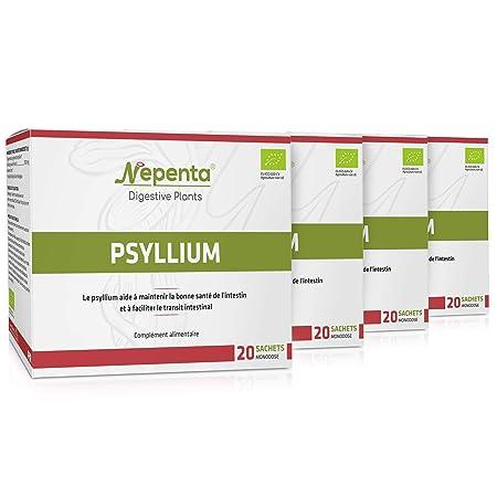 PSYLLIUM ECOLÓGICO * 71 g / 20 sobres monodosis * Digestión ...