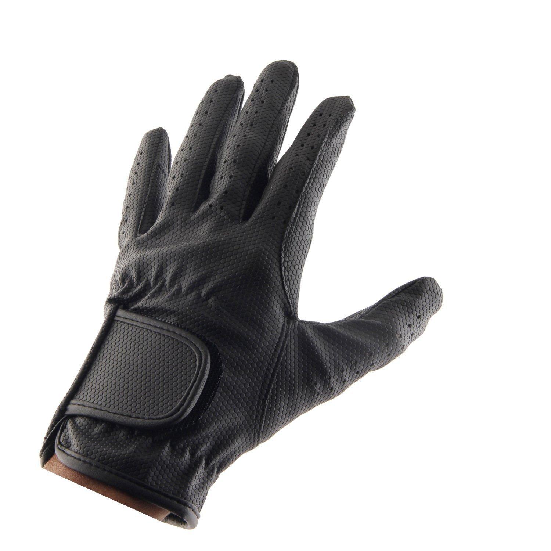 レザーEquestrian Horse Riding Gloves for Ladiesガールズレディース X Small  B07CM7N5W5