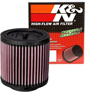 K&N Engine Air Filter: High Performance, Premium, Powersport Air Filter: 2003-2020 HONDA (FourTrax Rancher, Pioneer, Deluxe, FourTrax Foreman, Rancher AT, Big Red, Rubicon, GPScape, Rincon) HA-5000