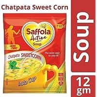 Saffola Active Soup, Chatpata Sweet Corn, 12 gm