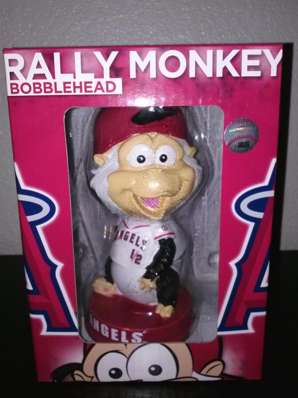 Los Angeles Angels of Anaheim Rally Monkey Bobblehead 2014 Sga