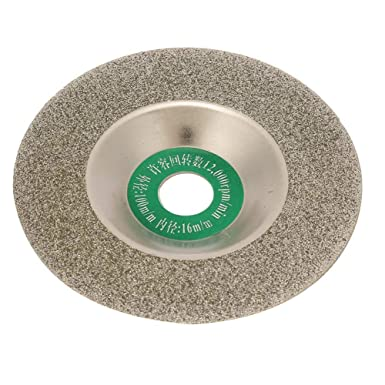 150025-Silver Bowl Type Diamond Grinding Wheels Turbo Blade Abrasive Disc 4 Inch