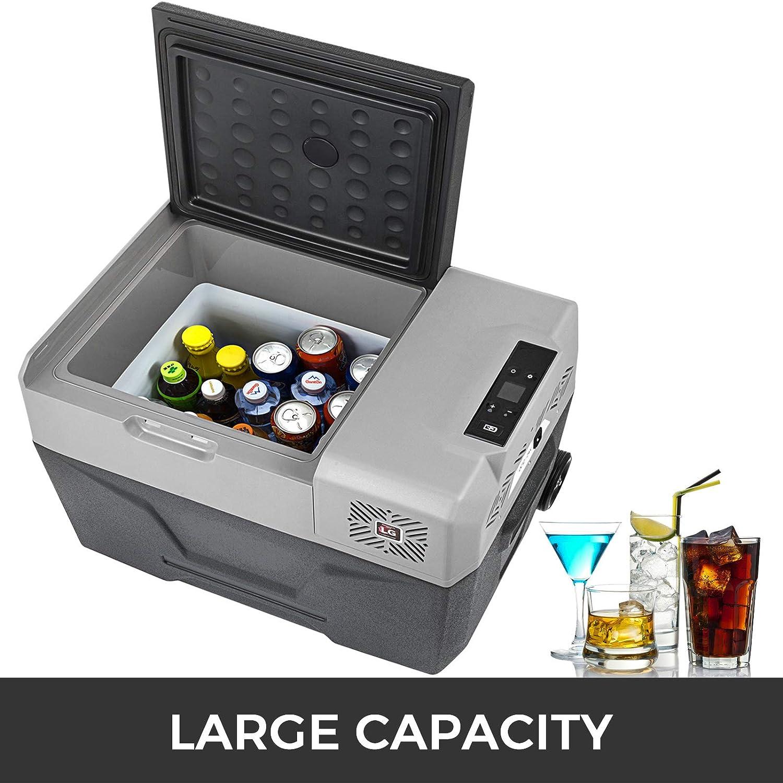 SucceBuy Mini R/éfrig/érateur Frigo Portable pour Voiture Frigo Voiture 30L