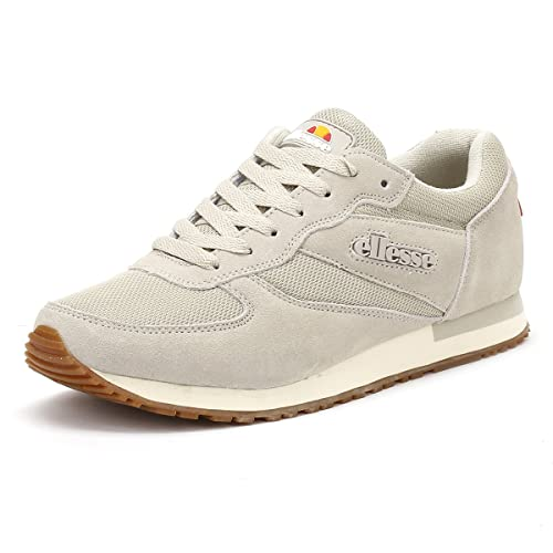 Ellesse Hombres Oatmeal/Gum LS110 Zapatillas: Amazon.es: Zapatos y complementos