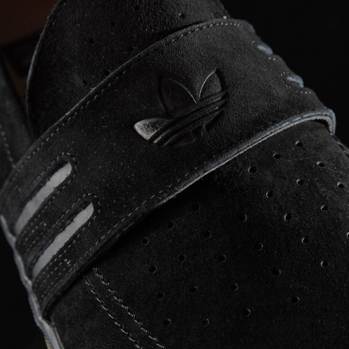 premium selection e28dd fdb75 adidas Acapulco Skateboarding Penny Loafer Shoes Black BB8428 Mens UK 10,  EU 44.23 Amazon.co.uk Shoes  Bags