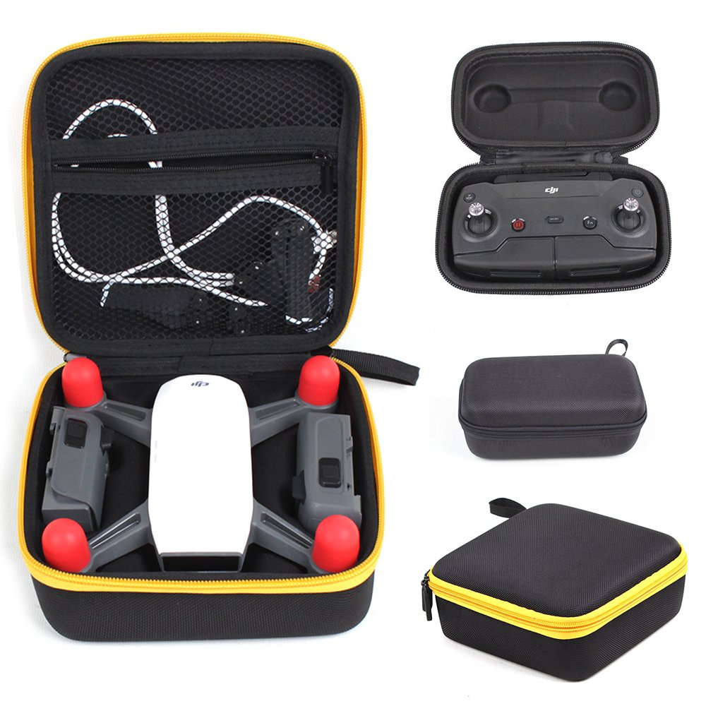 Drone Fans 1 Pc Storage Spark Mini Drone Body Battery Bag +1 Pc Portable Handheld Remote Controller Case for DJI Drone Spark