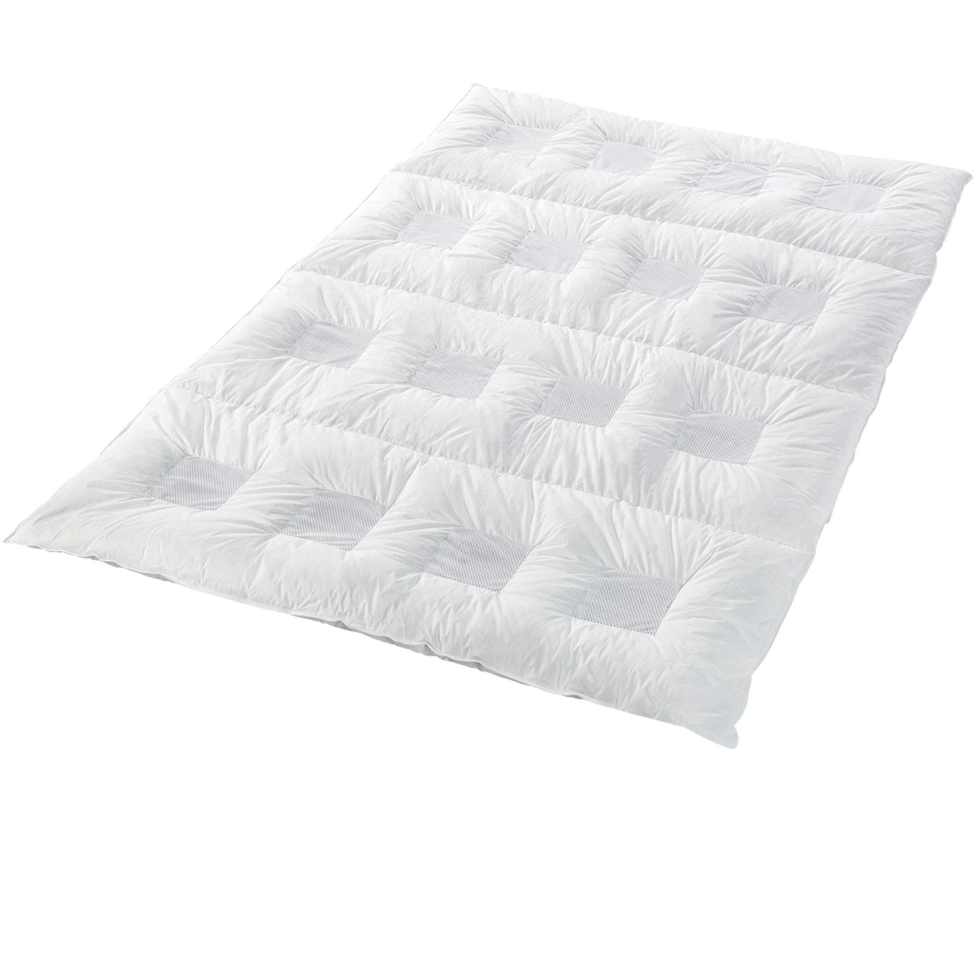 Climabalance #1 Hypoallergenic Lightweight All Year Down Alternative Comforter Twin Patented Design | Increases Deep Sleep Phases by 50% | Sensofill Virgin Polyester | Twin 64'' x 88''