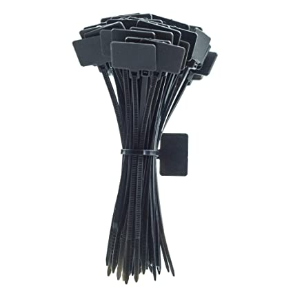 92a92035594d Amazon.com: Nylon Cable Ties, Durable Cable Zip Ties, Heavy Duty ...