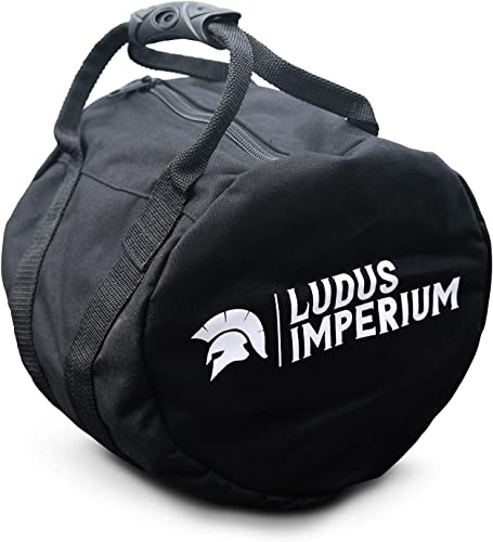 Ludus Imperium Adjustable Kettlebell Sandbag – Kettlebell Weights, Heavy Duty Workout Sandbags for Training, Fitness, Cross-Training Exercise, Workouts, Sandbag Weights, up to 45 LB