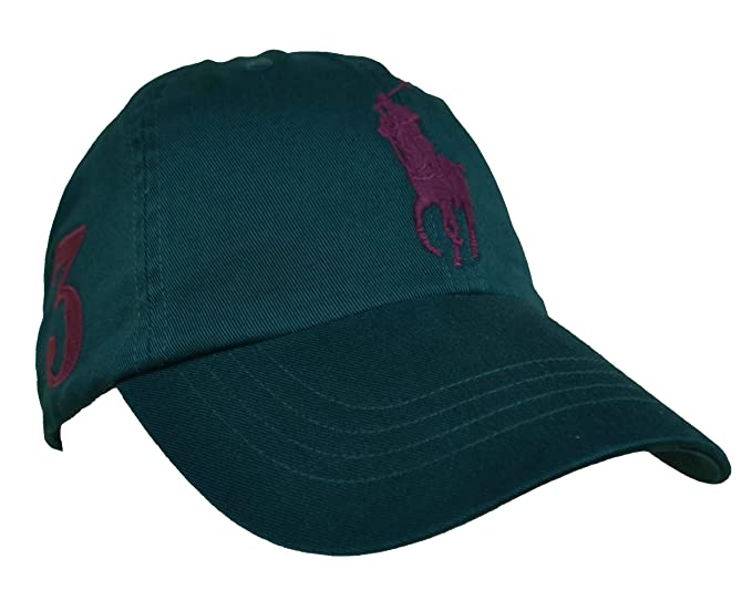 Ralph Lauren Big Pony - Gorra (talla única), color verde: Amazon ...