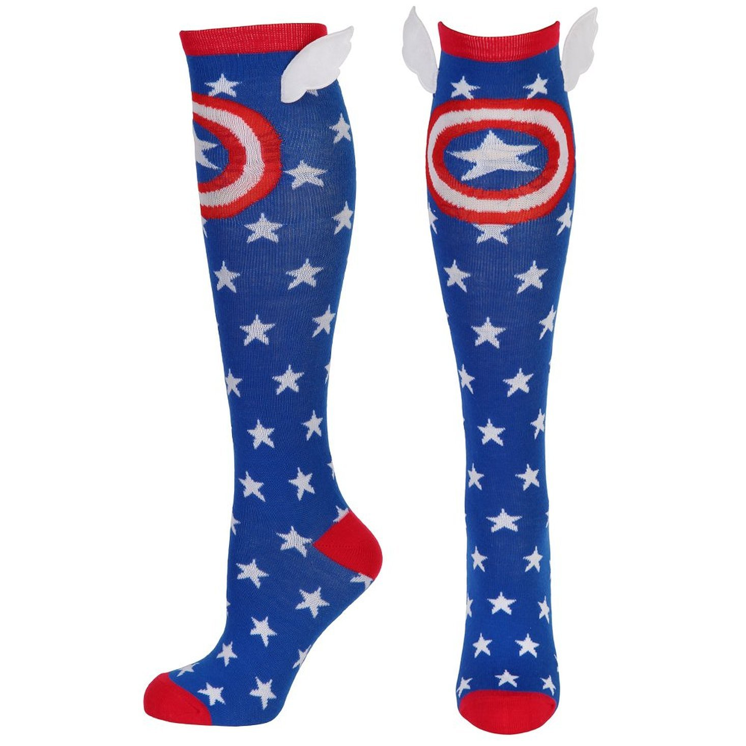 Captain America Knee High Socks with WIngs KH2SDWMVL00PP00
