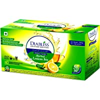 Diabliss Diabetic Friendly Lemon Tea made with Low GI Sugar (300gm) Sachet Box - Combo Pack of 3 (90 Sachets)