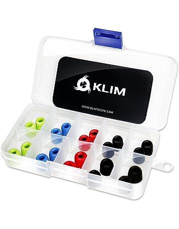 KLIM Almohadillas para Auriculares 4.9mm - Espuma con Memoria - 20 Almohadillas - Extremadamente Cómodas