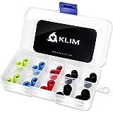 KLIM Cuscinetti per Auricolari 5.5mm – Memory Foam – 20 Cuscinetti – Estremamente Comodi – Isolamento dal Rumore Esterno [ Nuova 2019 Versione ]