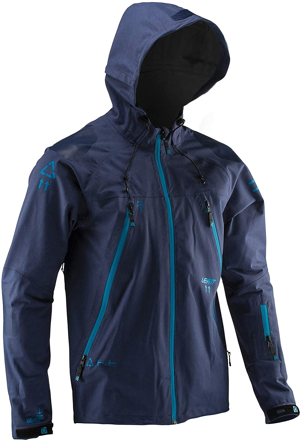 Leatt DBX 5.0 All-Mountain Bicycle Riding Jacket-Ink-M 5019001192