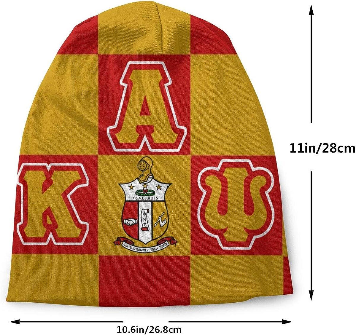 Xutazu Unisex Adult Knit Hats Soft Slouchy Beanie Hat Winter Warm Printing Skull Cap