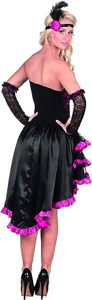 BOLAND BV Disfraz de cancán francés Rosa Mujer - M: Amazon.es: Juguetes y juegos