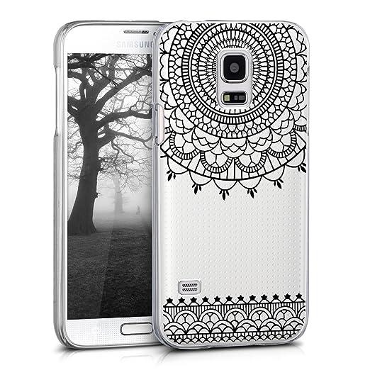 21 opinioni per kwmobile Cover per Samsung Galaxy S5 Mini- Custodia trasparente per cellulare-
