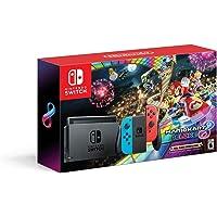 Consola Nintendo Switch + Mario Kart 8 Deluxe (Juego Descargable) - Neón Rojo/Azul