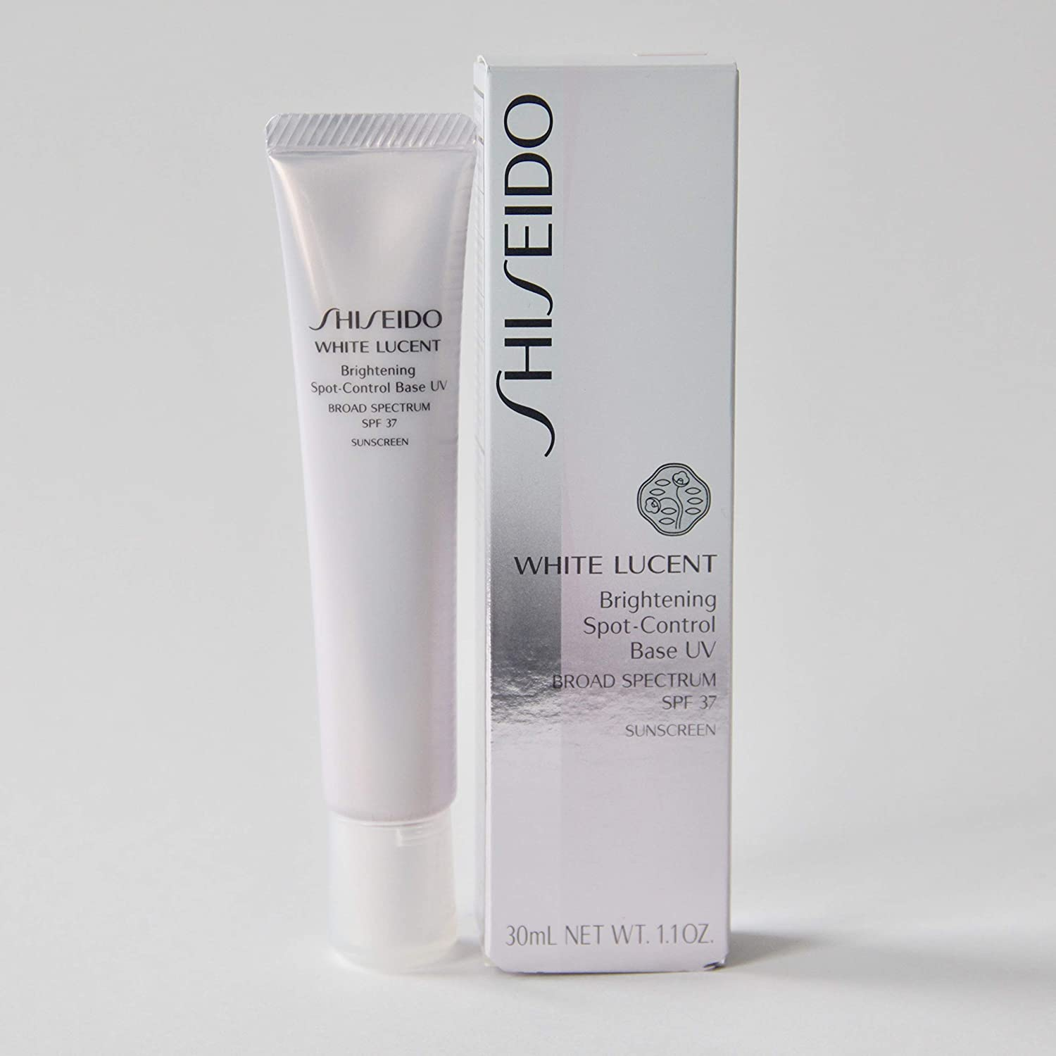 Shiseido White Lucent Brightening Spot Control Base UV Broad Spectrum SPF 37 Sunscreen Color - PINK