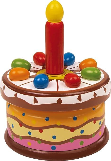 HSL Reloj de Música Torta de Cumpleaños: Amazon.es: Hogar