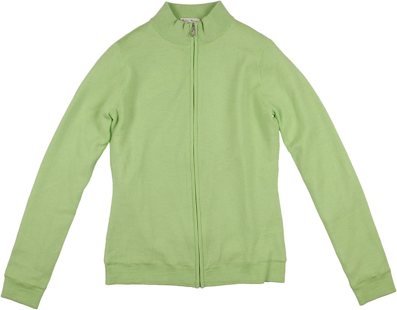 Fairway Selling rankings Greene Women's Max 51% OFF Long Sleeve Sweate Golf Merino Full Zip