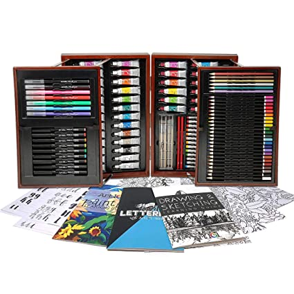 Amazon.com: Art 101 Platinum Edition - Set de 154 piezas ...