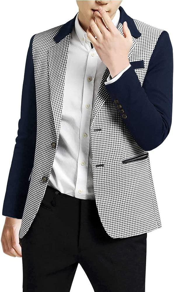 Lannister Fashion Patrón De Pata De Gallo para Hombre Blazer ...