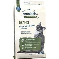 Sanabelle Grande Kattendroog voer voor volwassen katten (bijzonder geschikt voor grote rassen), 4er Pack (4 x 2000 g)