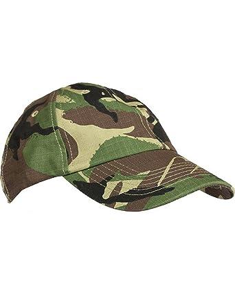 cb66ec7610d Mens Military Combat Baseball Cap Sun Hat Visor DPM Desert Camo UTP Urban  Grey