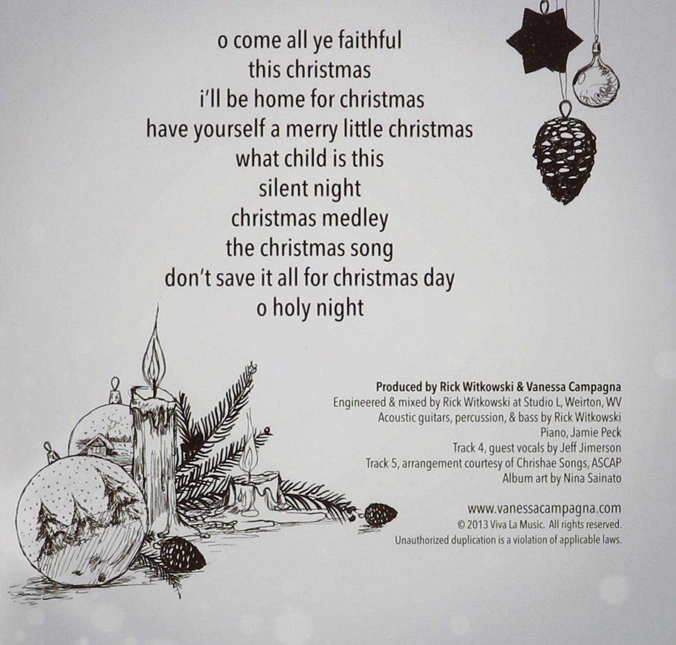 Vanessa Campagna - Simply Christmas - Amazon.com Music