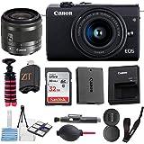 Canon EOS M200 Mirrorless Digital Camera 24.1MP Sensor w/EF-M 15-45mm f/3.5-6.3 is STM Lens + SanDisk 32GB Memory Card…