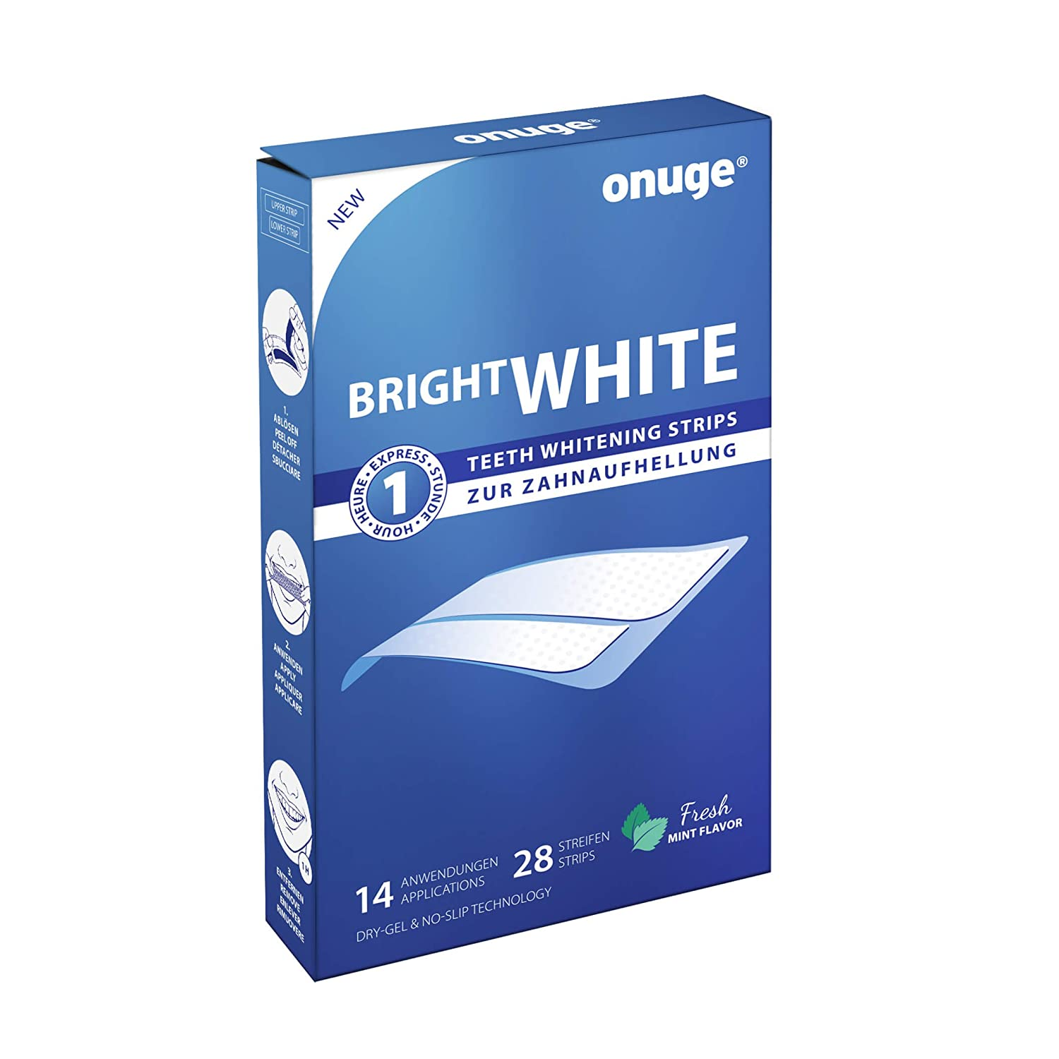 Onuge Bright White Stripes