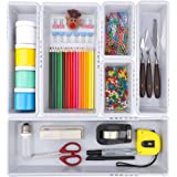 a918e91b5c6d Amazon.com : MineDecor 4 Pcs Desk Drawer Organizer Plastic Makeup ...