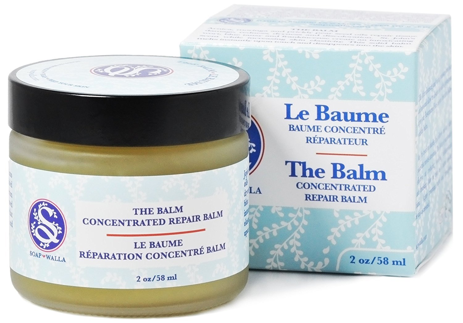 Soapwalla - All Natural/Organic The Balm - Concentrated Repair Balm (2 oz)