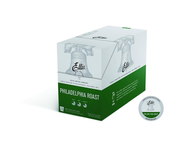 Ellis Coffee Company Single Serve Cups 24 Count Box (Philadelphia Roast)