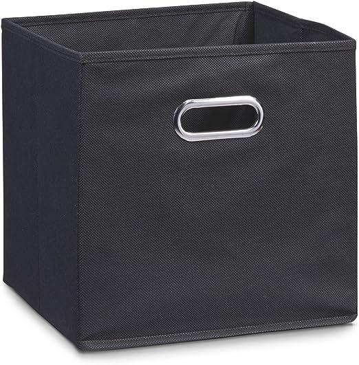 Zeller 14133 - Caja de almacenaje de tela, plegable, 28 x 28 x 28 ...
