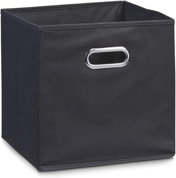 Zeller 14113 - Caja de almacenaje de tela, plegable, 32 x 32 x 32 ...