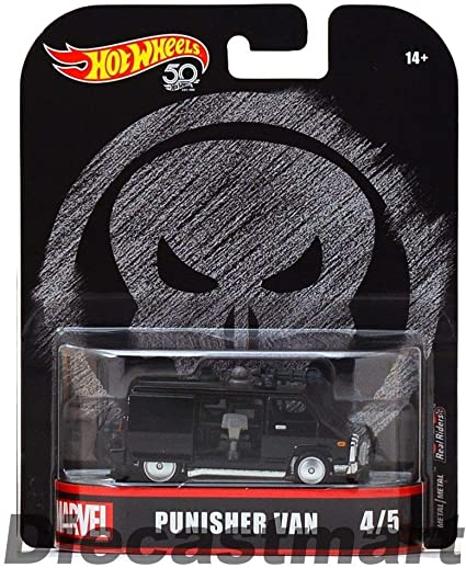 2018 Hot Wheels 1:64 Retro Entertainment Marvel Ghost Rider Charger Diecast Car
