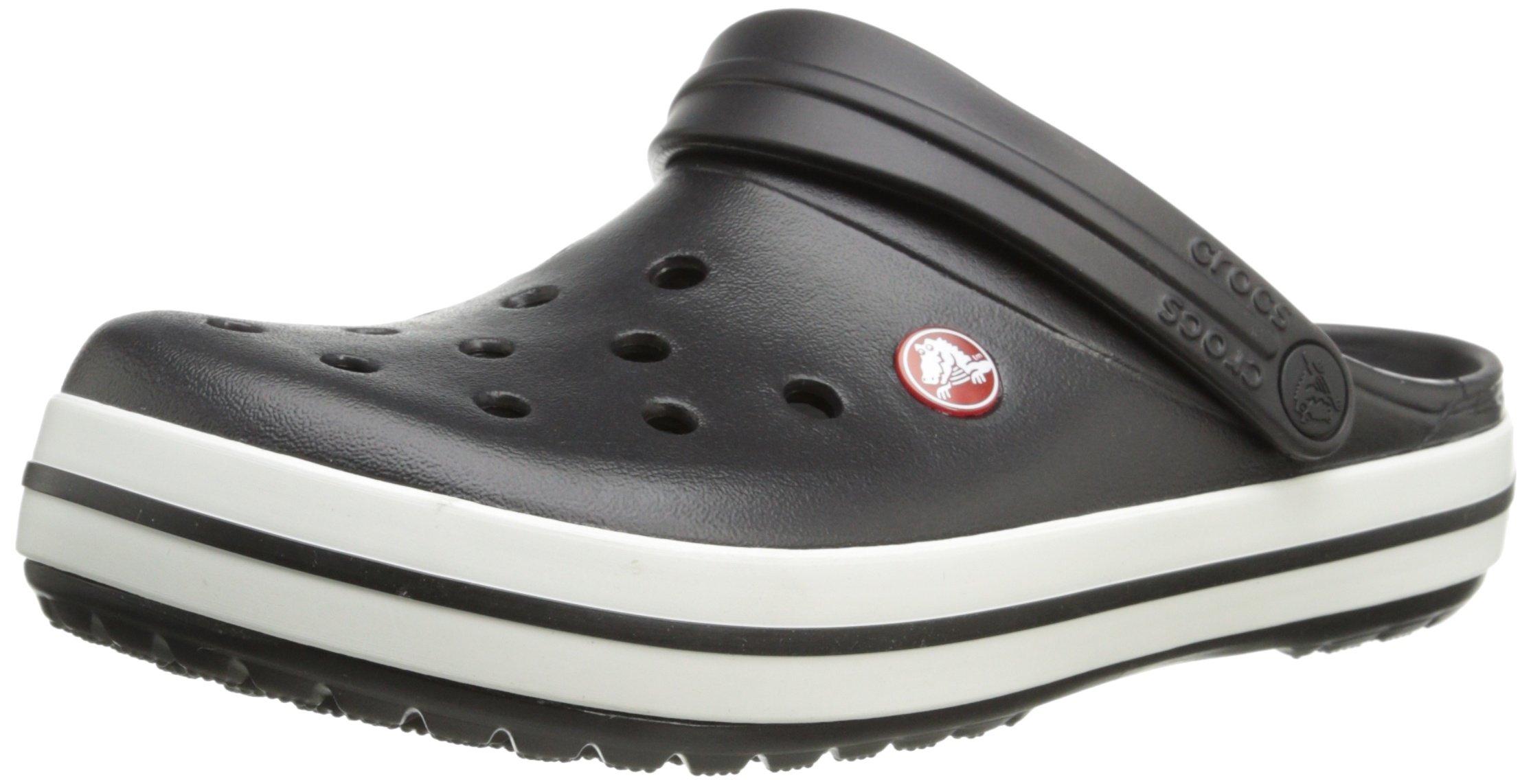 Crocs Unisex Crocband Clog, Black, 12 US Men / 14 US Women by Crocs