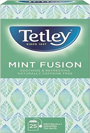 Tetley Infusión de Menta té Bolsas Box | Pack de 25: Amazon ...