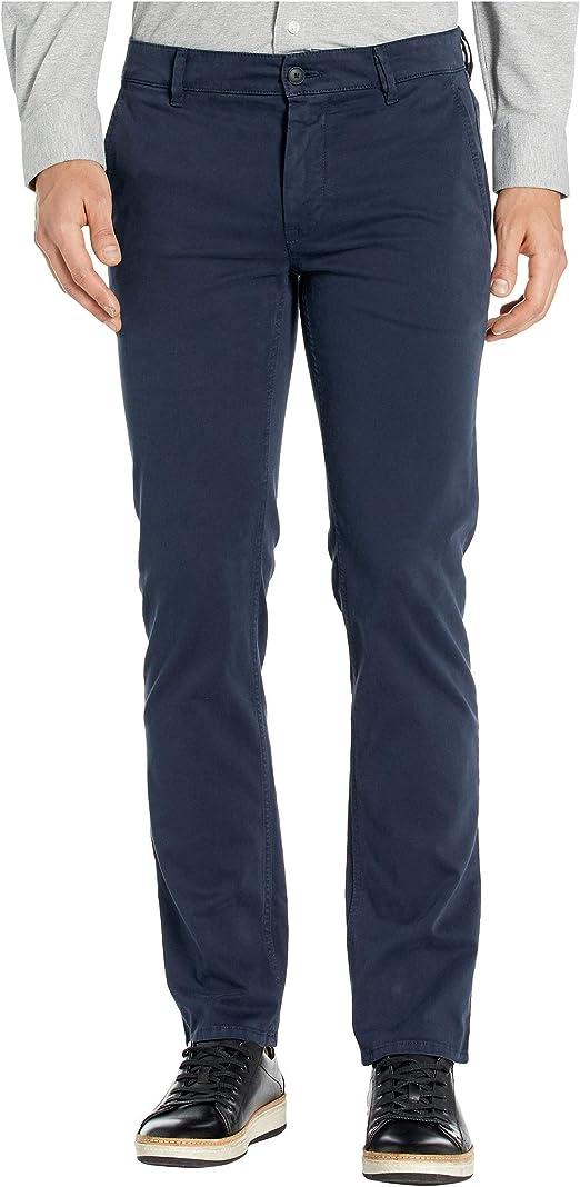 Hugo Boss Trousers Slim Fit Stretch Cotton Blue 50379152
