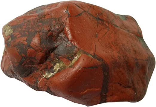 Very Rare Natural Red Brecciated Jasper Excellent Stone Hand Polish Gemstone Use For Jewelry 33 Ct 38 X 21 mm #2996